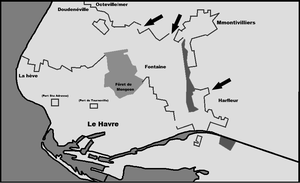 the plan of the (Super-Festung plan of the Havre) by DimLordofFox