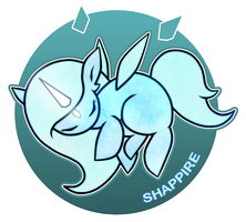 MLP Shapphire by Goddess-Tears