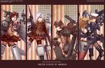 RWBY-Military girl collection : Team RWBY by dishwasher1910