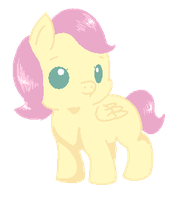 Baby Fluttershy by Blood-Charm