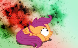 SCOOTALOO FRIGHTENED by AngelCARMINE
