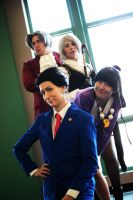 Ace Attorney by LinkInSpirit