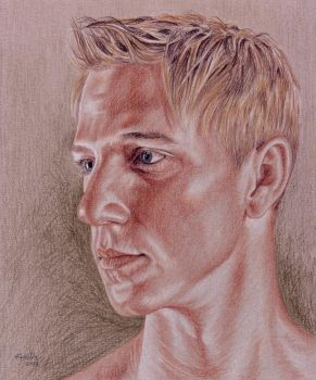 Portrait of Justin by Facenna