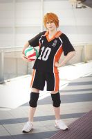 Hinata Shouyou Coslay - Haikyuu!! - Here I Am!! by DakunCosplay