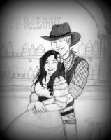 A Cowboy and His Love by gorgeouszombiegirl