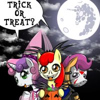 TRICK OR TREAT! by Vermillon-Loup