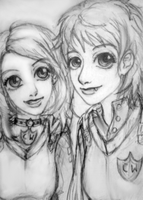 Angua and Sally by xmallory08
