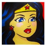 Wonder Woman Birthday Gift by ChibiCelina