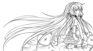 Strawberry Chobits :Sketch: by Trinity-In-Rainbows