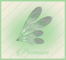 Green fairy wings png by TinaLouiseUk