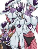 Anime Classics DBZ Frieza by Wyvern07