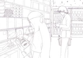 Encounter in the supermarket by yetafilms