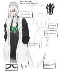 Bleach OC: Akai Metsuki, 4th Division Captain by BladeKat