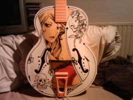 Orange and Cream acoustic 2 by Dolhaus