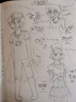 You are human sketch dump 1 by GuineaPig103