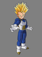 Kid Trunks - Super Saiyan by dbzataricommunity