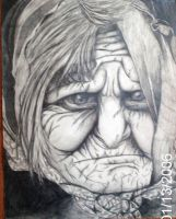 Her Wrinkles Tell The Story. by DragonGirl-Lucky-13