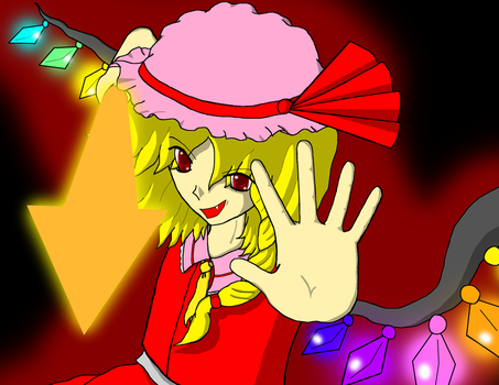 Flandre Scarlet by XilverGreen by XilverGreen