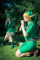 'When you want to hear my voice play Saria's Song' by Leonie-Heartilly