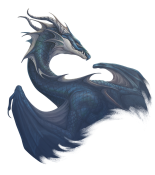 West wind dragon by Pechschwinge