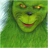 The Grinch by olivious