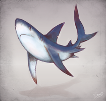 Blue Shark by 6Doug9
