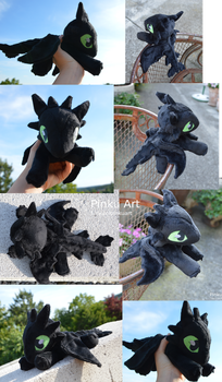 More Toothless by PinkuArt