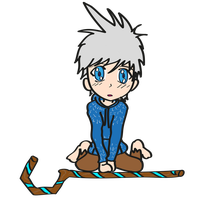 Jack Frost Chibi Sorry - 01 by MetalJacksonFire