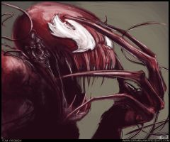 Carnage Speed Painting by Tomahawk-Monkey