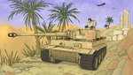Panzer rollen in Afrika vor! by ColorCopyCenter