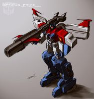 WarWithin Optimus w Apex Armor by dcjosh