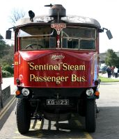 Steam driven bus by UdoChristmann