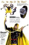 Product placement - Hourman promotes Rolex! by Nick-Perks