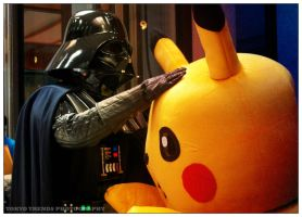 Pikachu and Vader by Tokyo-Trends