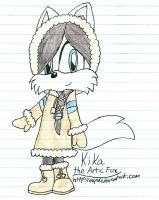 Kika the Arctic Fox by mlp44