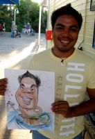 Live Caricature 4 by aaronphilby