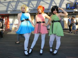Powerpuff Girls by cyberfox007