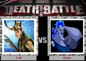 Death Battle: Loki vs Hades by SithVampireMaster27