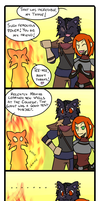 Ja'Khajiit - The Bravest p.4 by SkadiErendra