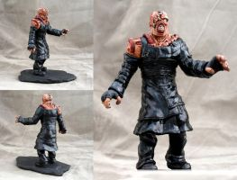 Resident Evil Nemesis T type sculpture by DrMonkeyface