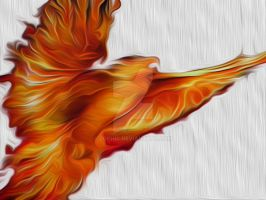 The Powerful Phoenix by Zophic