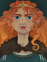 Queen Merida by Daaakota
