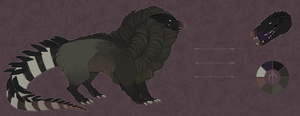 Auction adopt - striped crocodile |CLOSED| by Suanemore