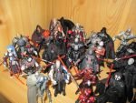 Star Wars Sith Action Figures 2 by DarthVaderXSnips
