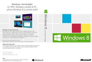 Windows 8 Consumer Preview DVD Cover (es-ES) by Misaki2009