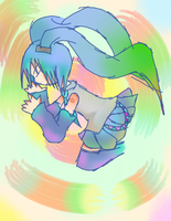 Color-Tainted Singer by kinimoto7