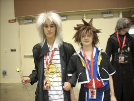 Bakura and Sora by TimelordWitch10