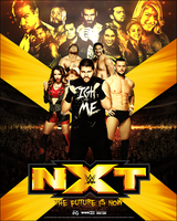 WWE NXT: The future is now. by Ecku-GFX
