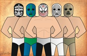 Mil Mascaras Jam by paquitox