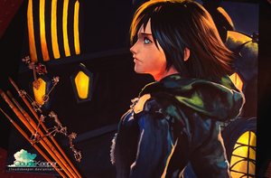 Xion - Kingdom Hearts by CloudsKeeper